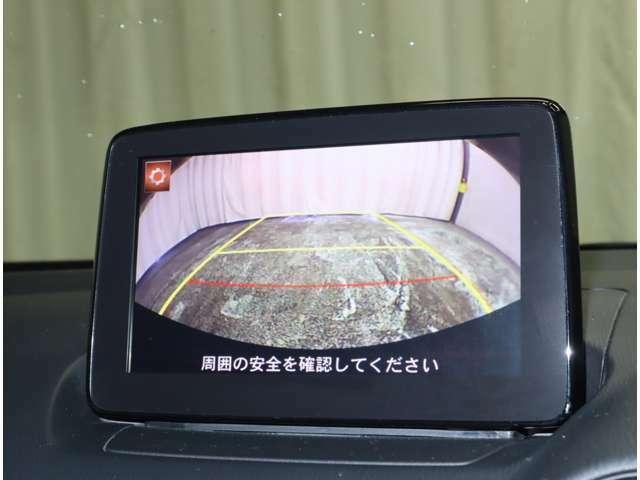 バックモニター付。後退時にはナビの画面が後方視界を映し出してくれますので非常に便利ですよ(^^♪