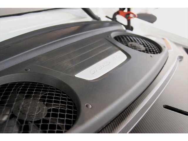 4.0リッター自然吸気フラット6で出力520psを発生(カタログ値)