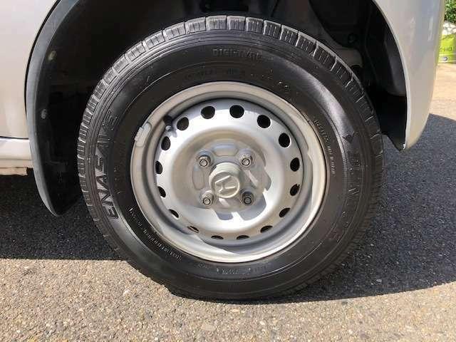 タイヤ4本新品に交換いたします!!