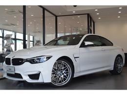 BMW M4クーペ コンペティション M DCT ドライブロジック 1オナ黒革20AW純正HDDナビBカメラ衝突軽減