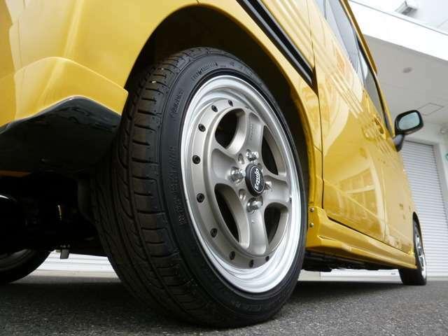 WORKエクイップ40は1本39960円の高級2ピースホイールです!メイドインジャパンのクオリティですので品質もご安心下さい!タイヤはグッドイヤーなどの国産タイヤをセッティング致します!