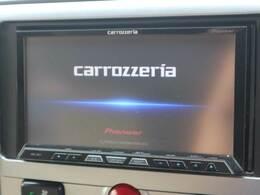 カロッツェリア製のHDDナビゲーション。