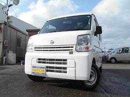 日産 NV100クリッパー 660 DX ハイルーフ 5AGS車 4WD 法定整備実施 点検記録簿発行