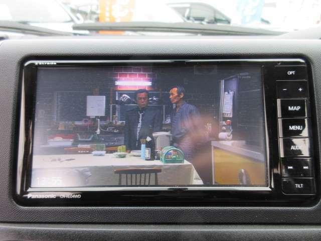 CD録音&DVD再生&フルセグTV付き♪ 多機能ナビで、長距離ドライブなども車内を快適な空間にしてくれますね♪