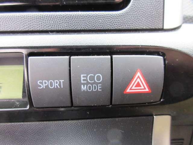 スポーツモードとエコモードの切り替えでメリハリのある走りができますね♪