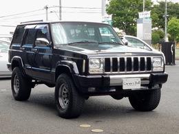 ジープ チェロキー スポーツ 4WD リフトUP&フルメッキverXJ黒Jeep最終型