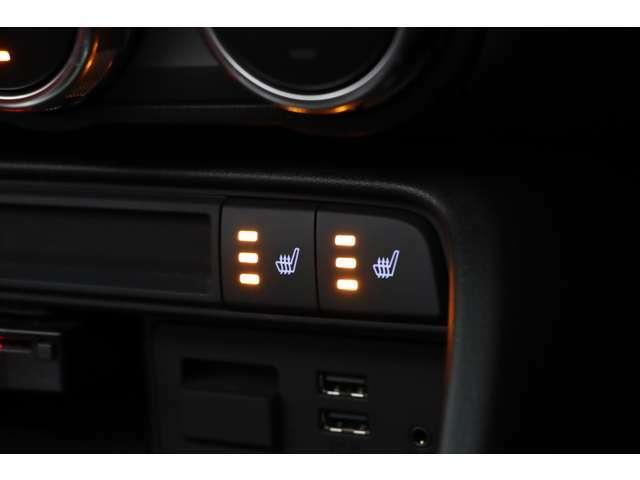 シートヒーターが装備されておりますので寒い冬も快適にドライブをお楽しみ頂けます。