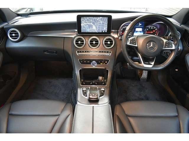 ヒーターメモリーランバーサポート付ARTICOブラックレザーシート 大型ディスプレイコマンドシステムHDDナビ地デジフルセグTV マルチカラーアンビエントライト!前車追従レザークルーズ搭載