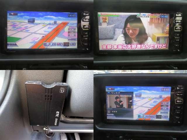 SDナビ・ワンセグTV・CD・USB・ETCも着いてます(^o^)/