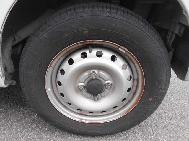 タイヤの残り溝もまだまだあります。