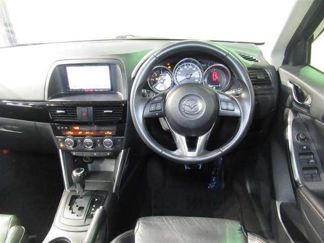 ☆ハンドル周り☆運転しやすいようにスイッチなども配置されています!