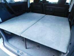 下段後部簡易ベッド 長さ130cm幅142cm