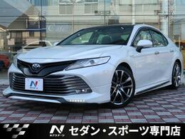 トヨタ カムリ 2.5 G レザーパッケージ サンルーフ TRDエアロLED付 TRD19インチAW