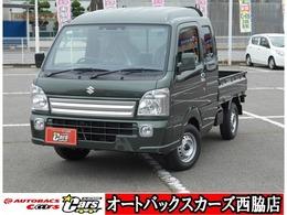 スズキ キャリイ 660 スーパーキャリイ X 3方開 4WD 届出済未使用車スズキセーフティーサポート