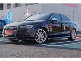 アウディ S3セダン 2.0 4WD Mナビ 黒本革 車高調 Rクルーズ