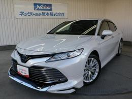 トヨタ カムリ 2.5 G レザーパッケージ トヨタセーフティーセンス エアロ ナビ