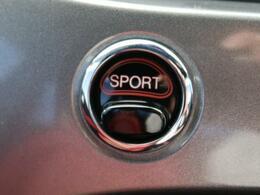 ●スポーツモード『スポーツモードに入れた瞬間、この車の性格が一気に変わります。シートに押し付けられる加速感を体験できます!』