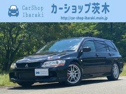 三菱 ランサーエボリューションワゴン 2.0 GT 4WD 1オ-ナ-6速MT純正レカロLSD300キロメ-タ-