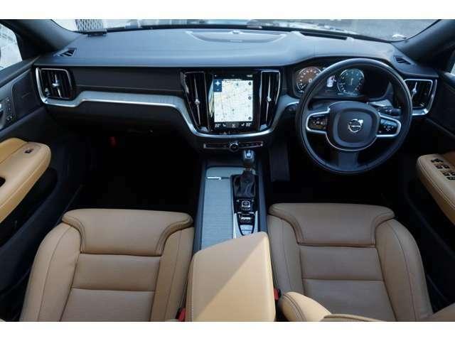 車内は、白のドリフトウッドを使っており北欧デザインが見事に調和した内装となっております。