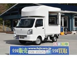 スズキ キャリイ 660 KCエアコン・パワステ 3方開 4WD 移動販売車 キッチンカー ケータリングカー