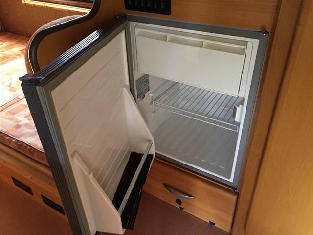 大容量冷蔵庫完備で便利!