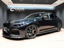 BMW M5コンペティション 4.4 4WD Mカーボンブレーキ3Dエアロ 20AW メリノ革