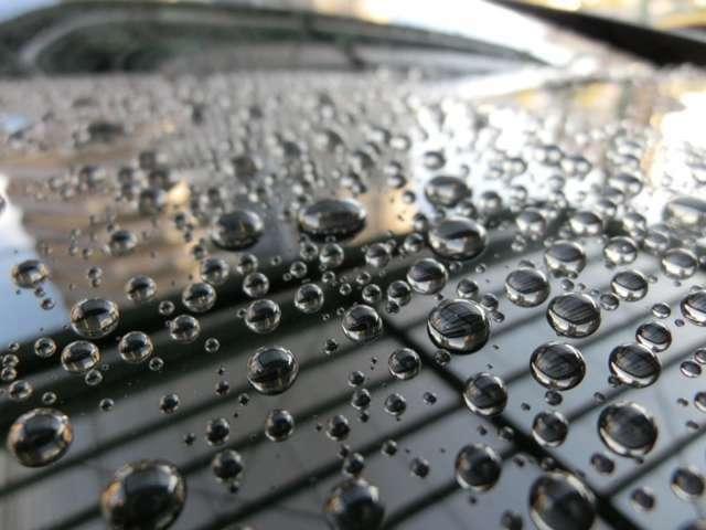 Bプラン画像:ガラスコーティングは硬い皮膜を形成しますので、洗車キズが軽減されるとも言われていますし、汚れの種類によっては軽い水洗いだけで簡単に落ちてくれます。