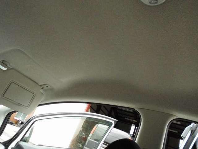 運転席の上トリムも禁煙車で綺麗です