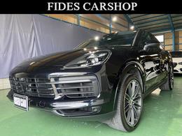 ポルシェ カイエンクーペ S ティプトロニックS リアセンターシート 4WD ワンオーナー 純正22AW LEDマトリクス