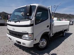 日野自動車 デュトロ 2t積・ワイド・ロング・垂直パワーゲート付 平ボディ・5MT