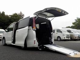 トヨタ ノア 2.0 X ウェルキャブ スロープタイプI 車いす2脚仕様車 電動ウィンチ トヨタセーフティセンス