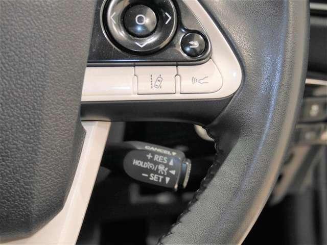 レーンディパーチャーアラート/レーダークルーズコントロール/車間距離切替スイッチ