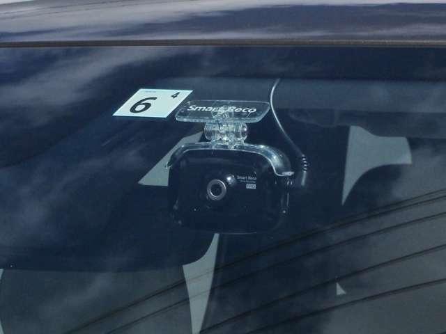 ドライブレコーダーも付いて安心してドライブをお楽しみいただけます