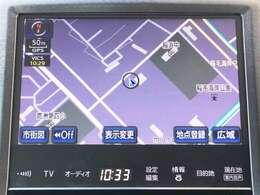 【純正HDDナビ】 純正ナビ付きで知らない土地のドライブも安心!CD、DVD、TVも楽しめます♪