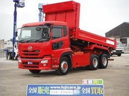 UDトラックス クオン 10.8Dダンプ積載8.6t 新明和 自動シート