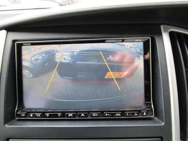 バックカメラ!お車を初めて運転されるかたやバック操作が苦手のお客様にはオススメの装備です!