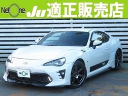 トヨタ 86 2.0 GT 現行型TRDエアロ純ナビ地デジBモニ外18AW