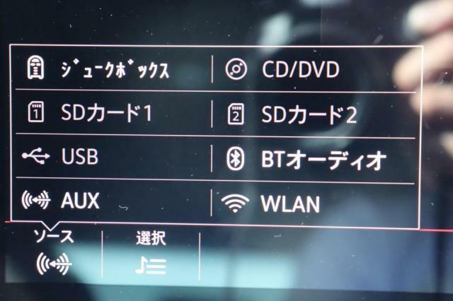 (ソース)CDやDVD、SDカード等からの音楽再生が可能です。