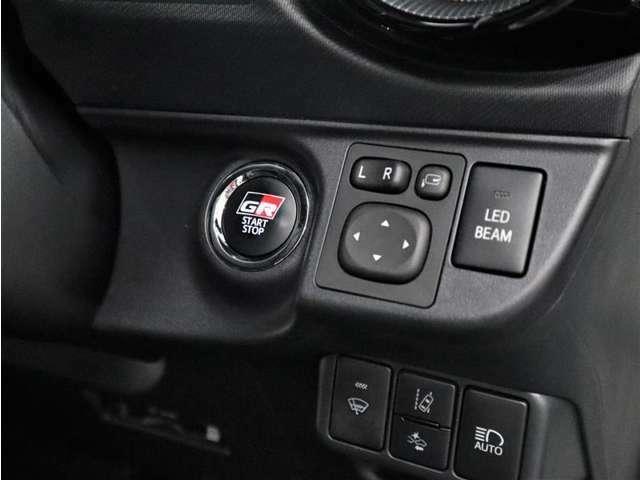 ポケットやバッグからキーを出さずにスマートに乗り込め、ボタンプッシュでおしゃれにエンジンスタートです。盗難防止イモビライザーも装備で安心です!
