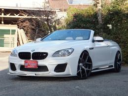 BMW 6シリーズカブリオレ 640i 電動オープン/本革/ナビ/WALDエアロ&22AW
