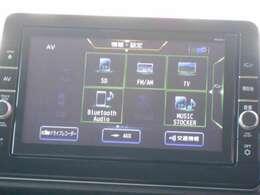 Bluetoothオーディオ対応・DVD・CD録音・SDとドライブも楽しくなります。