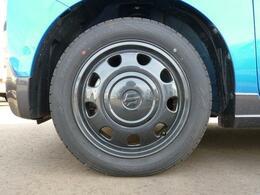 タイヤはアルミホイールです。
