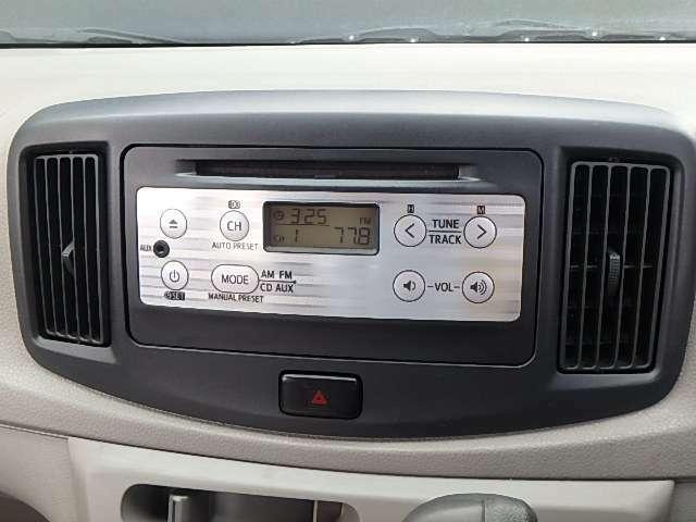 CDチューナー付きです。当たり前の装備ですが、無くちゃ困りますよね。いい音かけて、快適空間を演出して下さい。