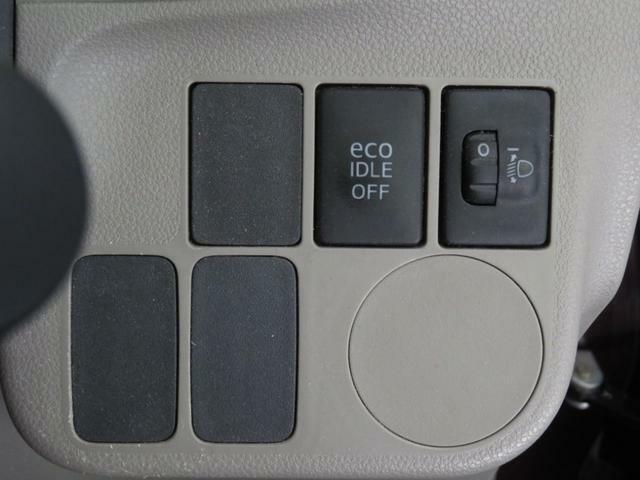 ヘッドライトレベリングスイッチとエコアイドルスイッチ付。燃費良いです。