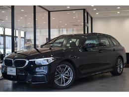BMW 5シリーズツーリング 523d xドライブ Mスピリット ディーゼルターボ 元デモカー18AWタッチナビACC保証継承
