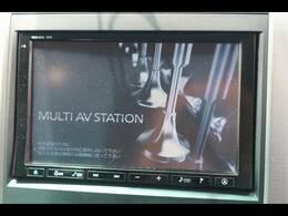 純正HDD8型ナビゲーション。フルセグ・DVD再生、Bluetooth搭載♪