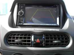 バックカメラ・ワンセグTV・DVDビデオ再生機能付きナビゲーション搭載車です。