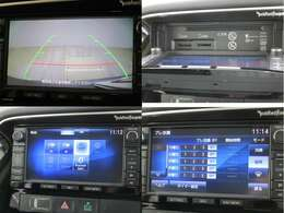 三菱純正メモリーナビ(MMCS)J-11 フルセグ ブルートゥース対応 DVD&CD再生可能 SD録音&再生可能 ロックフォード サイド&バックカメラ