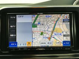 【ナビ】!!運転がさらに楽しくなりますね!! ◆DVD再生可能◆フルセグTV