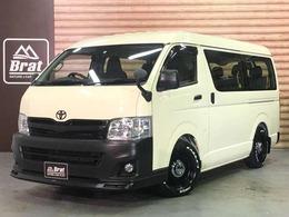 トヨタ ハイエース 2.7 DX ロング ミドルルーフ 4WD ローダウン MODELISTAスポイラー LEDテール